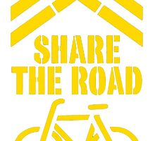Share The Road T Shirts, Stickers and Other Gifts by zandosfactry