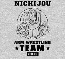 Nichijou Arm Wrestling Team - Black Unisex T-Shirt
