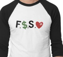 F Money Spread Love Forest Hills Drive  Men's Baseball ¾ T-Shirt