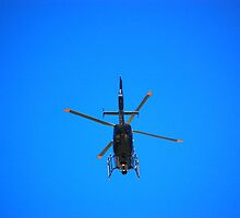 Did some one call the Police Helicopter  by Rayworsnop