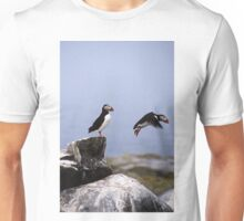 Leaping Puffin Unisex T-Shirt