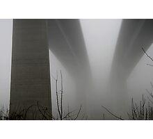 the bridge to nowhere Photographic Print