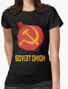 Soviet Onion Womens Fitted T-Shirt