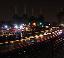 Train Trails by Sanj