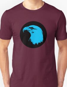 Bald Eagle in Blue T-Shirt T-Shirt