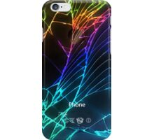 Broken Damaged Cracked out back Black iphone Photograph iPhone Case/Skin