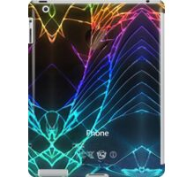 Broken Damaged Cracked out back Black iphone Photograph iPad Case/Skin