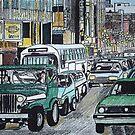 Street Congestion by Monica Engeler