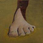 Left Foot by PrestonTheVegan