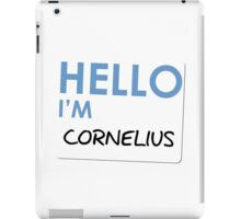 Fight Club - Hello I'm Cornelius iPad Case/Skin