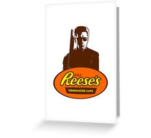 Kyle Reese's Terminator Cups Greeting Card