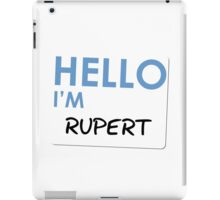 Fight Club - Hello I'm Rupert iPad Case/Skin