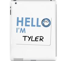 Fight Club - Hello I'm Tyler iPad Case/Skin