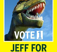 Jeff The Rex Vote 1 Fairfax 2013 by PowJones