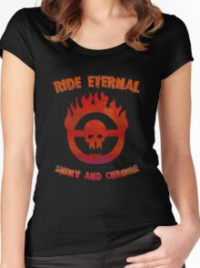 Ride Eternal [Rust Version]  Women's Fitted Scoop T-Shirt
