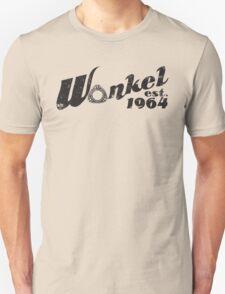 Wankel Black Unisex T-Shirt