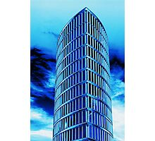 Blue Tower Photographic Print