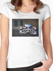 The Night The Motor Ran Women's Fitted Scoop T-Shirt