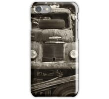 Old Truck at Salvage Yard  #02 iPhone Case/Skin