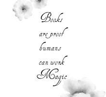 Books Magic by VieiraGirl