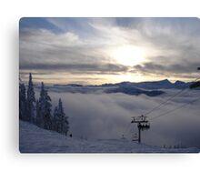 Mountain High - Mount Washington Alpine Resort Canvas Print