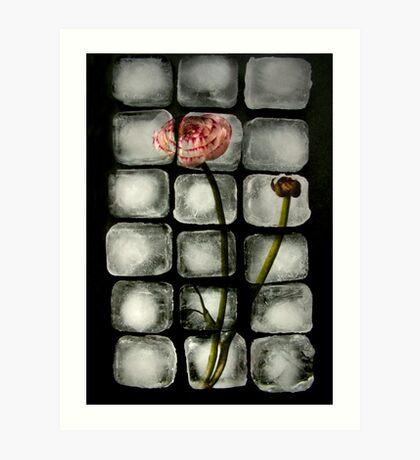 Flowercubes Art Print