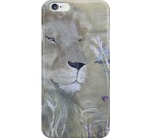 Resting Lion iPhone Case/Skin