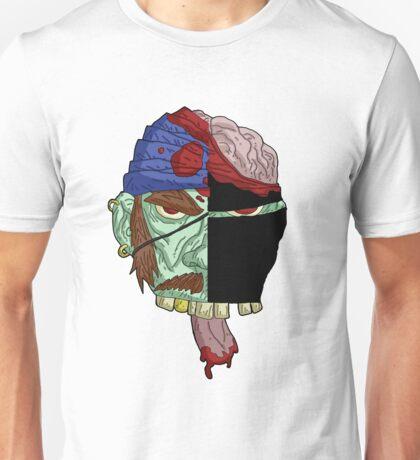 zombie pirate vs. zombie ninja... Unisex T-Shirt