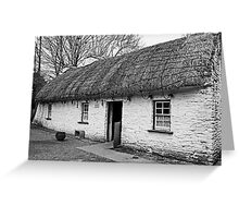 A Country cottage Greeting Card