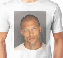 Jeremy Meeks, the Handsome Mugshot, Hot Felon Unisex T-Shirt