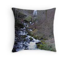 Columbia River Gorge - Wahkeena Falls (3) Throw Pillow