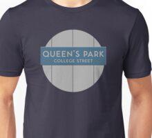 QUEEN'S PARK Subway Station Unisex T-Shirt