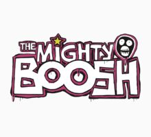 The Mighty Boosh – Dripping Pink Writing & Mask Kids Clothes
