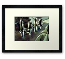 Giolitti's Brushes Framed Print
