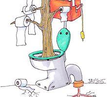 "The Toilet Tree - ""Toiletree"" by JayWorling"