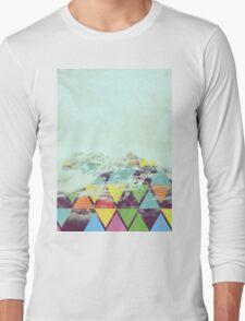 Triangle Mountain Long Sleeve T-Shirt