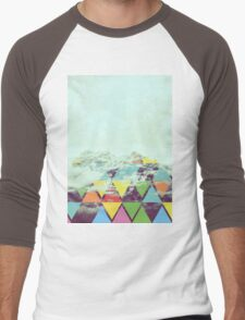 Triangle Mountain Men's Baseball ¾ T-Shirt