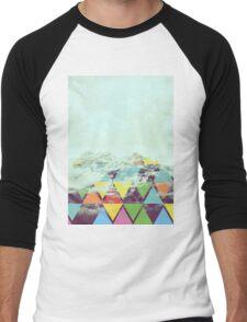 Triangle Mountain Men's Baseball ¾ T-Shirt