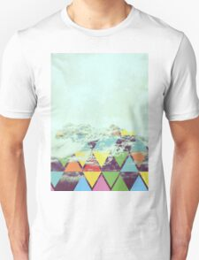 Triangle Mountain Unisex T-Shirt