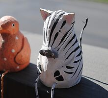 Zebra and Birdy by Kirsten Moody