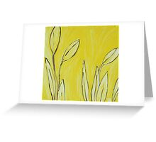 """Butter Flowers"" Greeting Card"