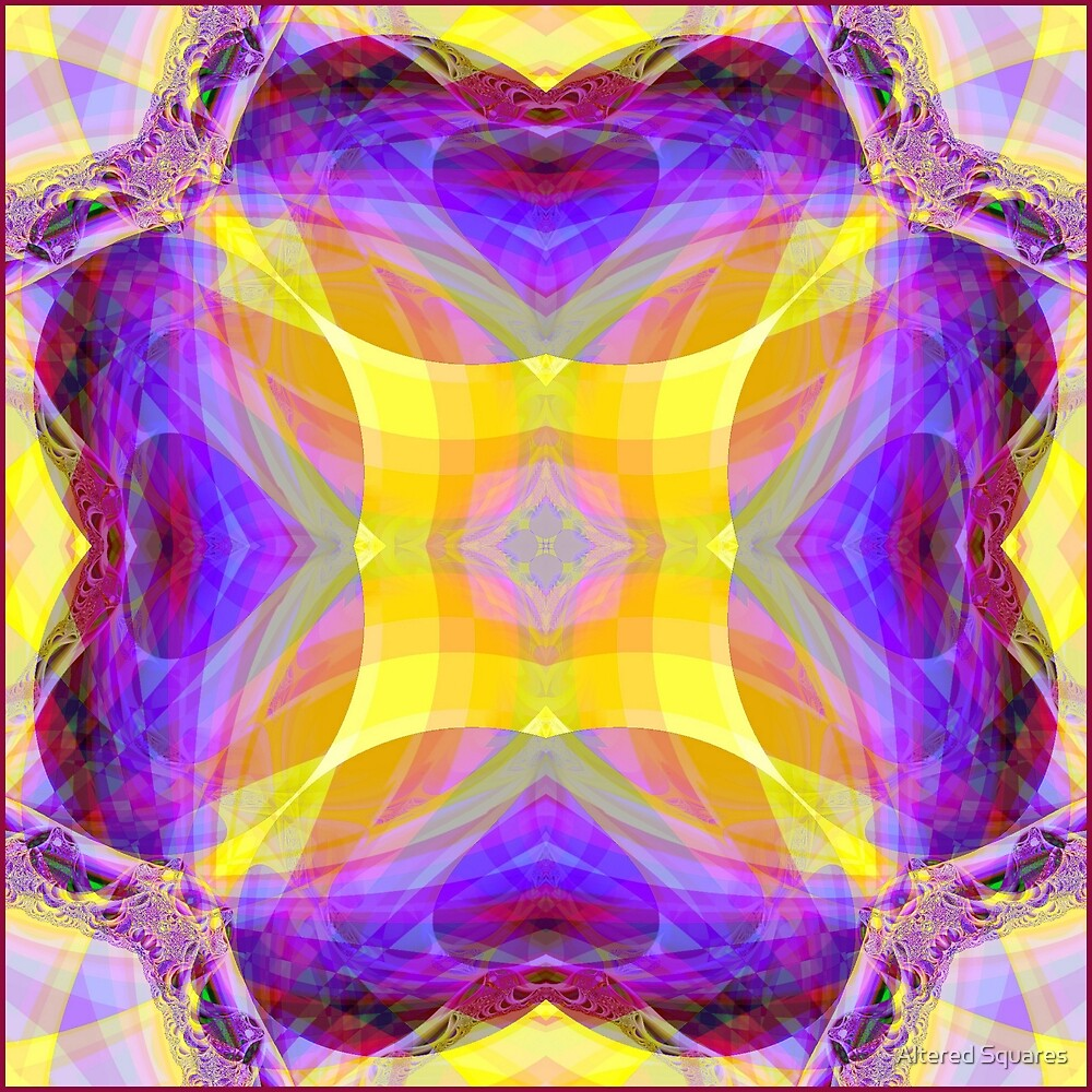 Center of Being 3 by Altered Squares