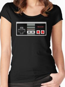 Classic old vintage Retro game controller Women's Fitted Scoop T-Shirt