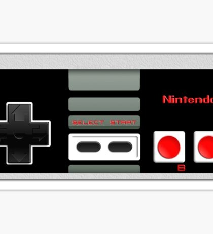 Classic old vintage Retro game controller Sticker