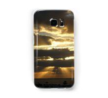 Lanzarote Sunrise Panorama Samsung Galaxy Case/Skin