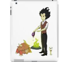 Would rather starve! iPad Case/Skin