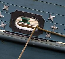 Yacht detail by Lorraine Parramore