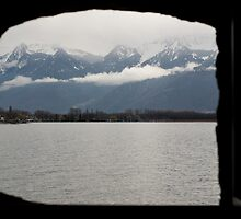 a window on a different world by Dan A'Vard