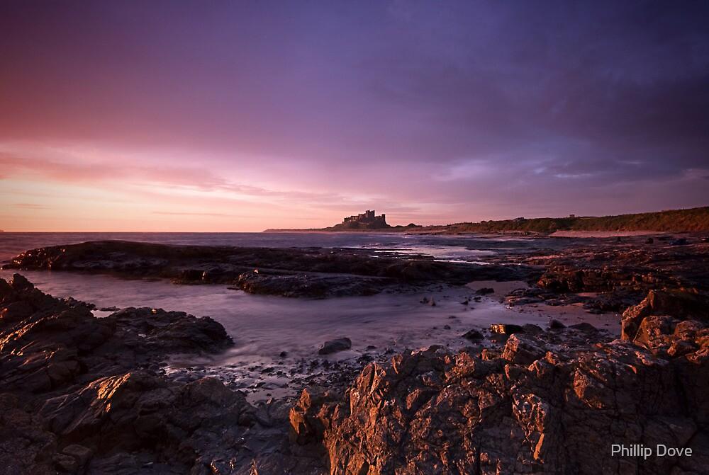 Bamburgh Dawn by Phillip Dove