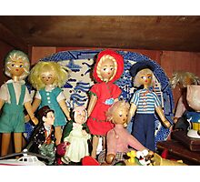 Shelf Life Toy Story (1) by Recycloanalyst Photographic Print